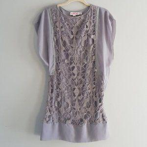 See by Chloe crochet overlay dress